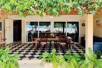 Large Ocean View Studio terrace with sliding doors