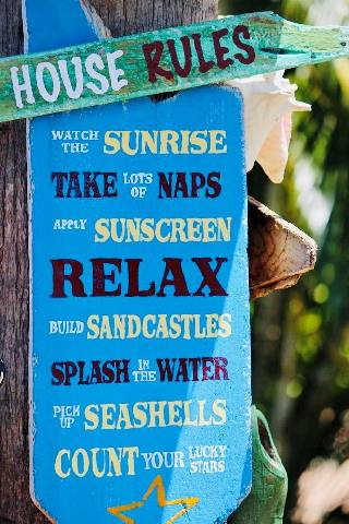 Sunset House Rules
