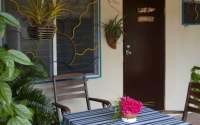 Garden View Studio w/ocean view terrace